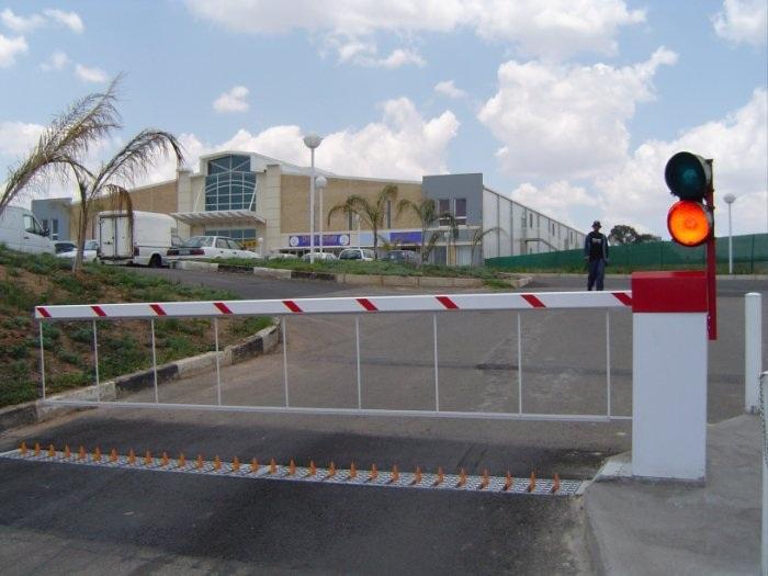 boom barrier gate