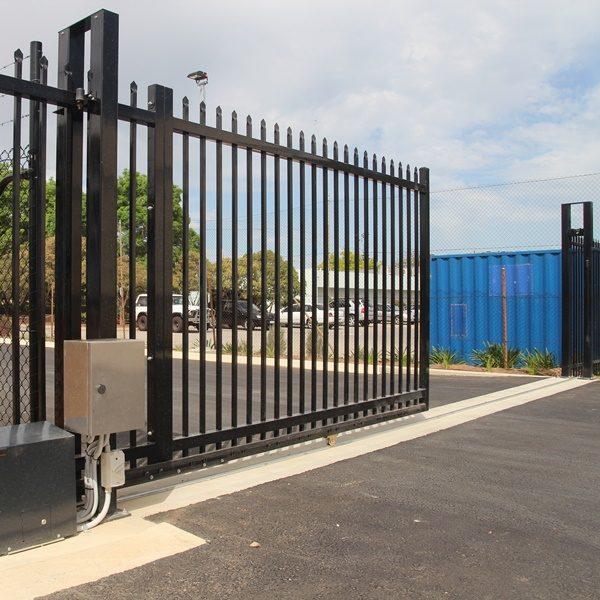 track gate